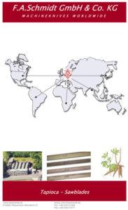 Tapioca Sawblades Brochure